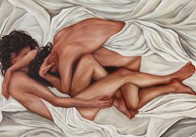 Lesbianas on art paintings
